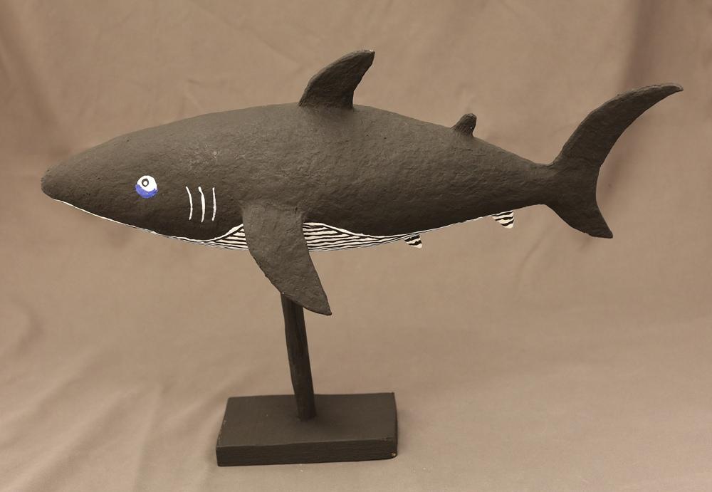 Kikolo  Shark (Paper mache)